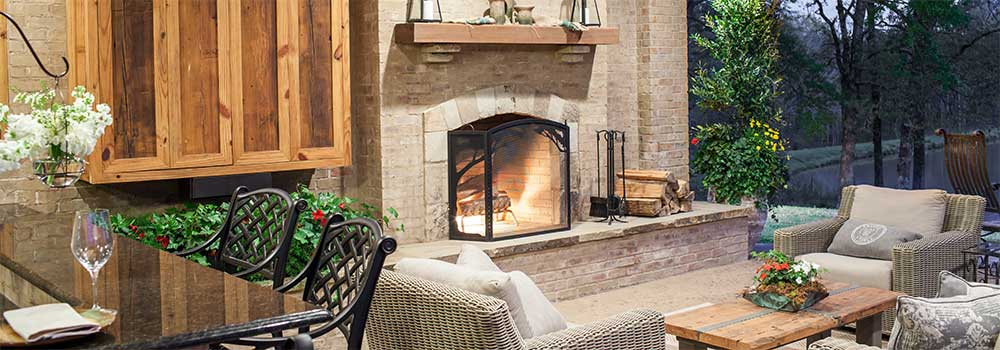Outdoor Fireplaces - Madison, MS