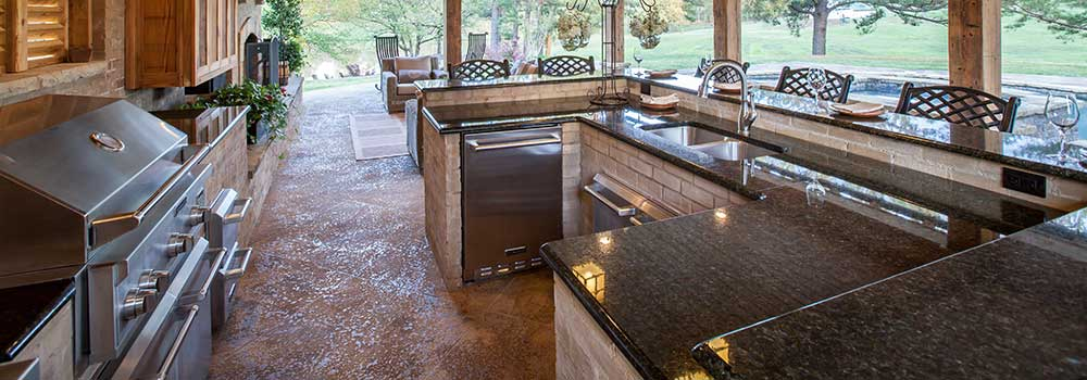 Outdoor Kitchens Design - Madison, MS